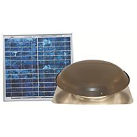 Ventamatic - VX1000SOLARWG - Roof Vent, Galvanized Steel