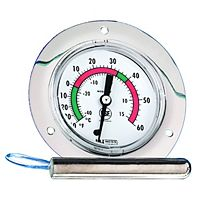 "Weiss Instruments - 4011000 - 20FB-060 40-0-60 F&C 48"" 2"" Front Flanged Vapor Thermometer"