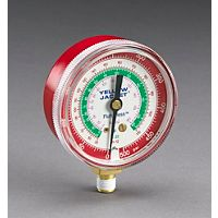 "Ritchie (Yellow Jacket) - 49001 - 2-1/2"" Red Pressure Gauge 0-500 psi R-12/22/502"