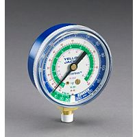"Ritchie (Yellow Jacket) - 49002 - 2-1/2"" Blue Compound Gauge 30"" -0-120 psi R-12/22/502"