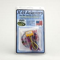 Zebra® - VZH03 - X-13 and Evergreen Motor Adapters (with DVD) for VZ-7